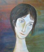 photo peinture Jeanne Hebuterne